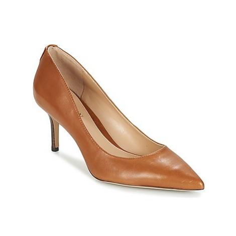 Lauren Ralph Lauren LANETTE women's Court Shoes in Brown