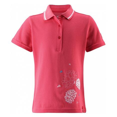 Reima 526171 Polo Kid's T-shirt - Neon Red