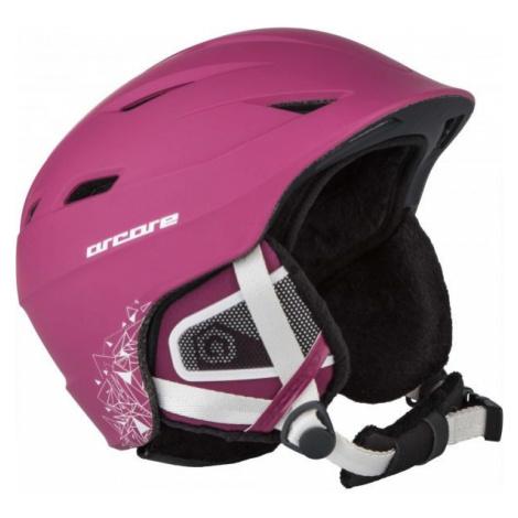Arcore SCALAR pink - Women's ski helmet