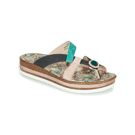 Think ZEGA women's Mules / Casual Shoes in Multicolour