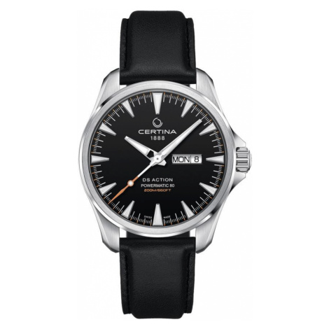 Certina Watch DS Action Day Date Powermatic 80