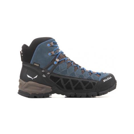 Salewa MS ALP FLOW MID GTX 63424-0940 men's Walking Boots in Blue