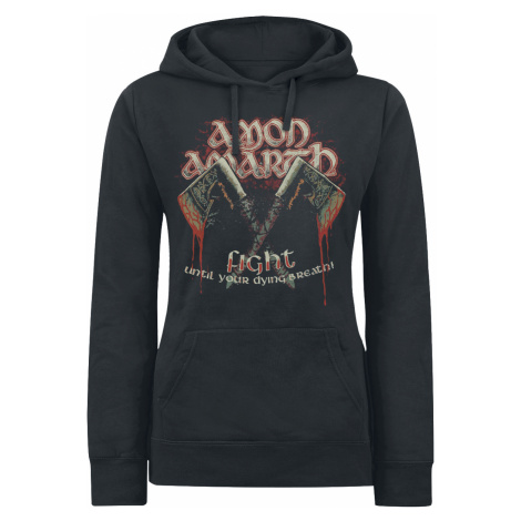 Amon Amarth - Viking - Girls hooded sweatshirt - black