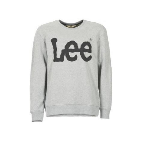Lee LOGO SWS men's Sweatshirt in Grey