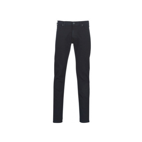 Lee LUKE BLUE BLACK WOOD men's Skinny Jeans in Black