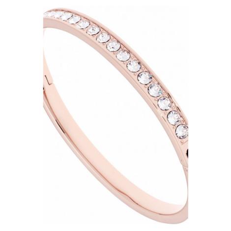 Ladies Ted Baker Rose Gold Plated Clemara Hinge Crystal Bangle TBJ1567-24-02