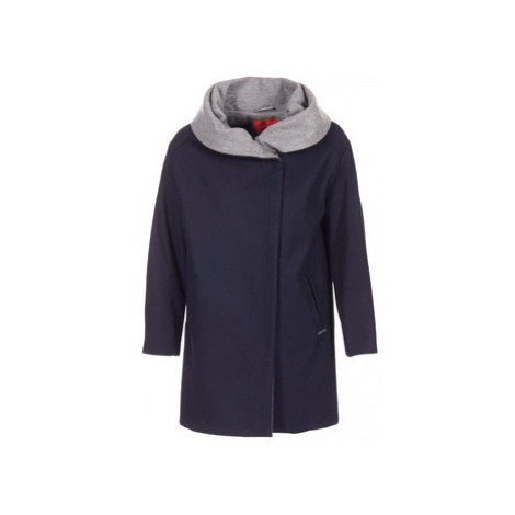 S.Oliver DEMIZA women's Coat in Blue