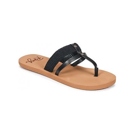 Roxy AILANI J SNDL BLK women's Flip flops / Sandals (Shoes) in Black