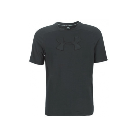 Under Armour UNSTOPPABLE MOVE TEE men's T shirt in Black