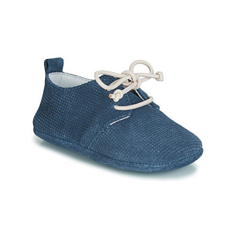 Blue baby boys' shoes