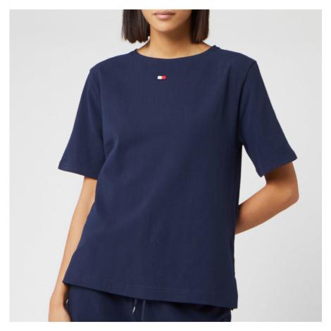 Tommy Hilfiger Women's BN Half Sleeve T-Shirt - Navy Blazer