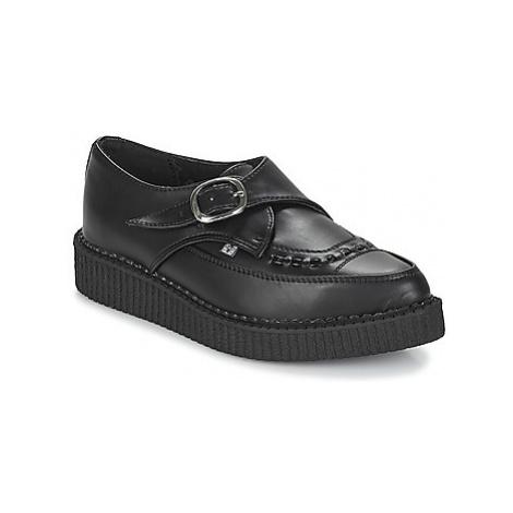 TUK POINTED MONK BUCKLE women's Casual Shoes in Black T.U.K