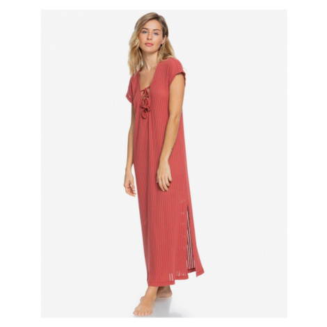 Roxy Summer Pink Wave Beach Dress Pink