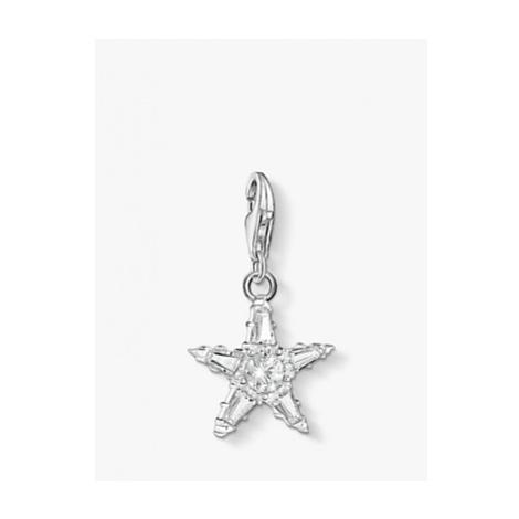 THOMAS SABO Charm Club Star Charm, Silver