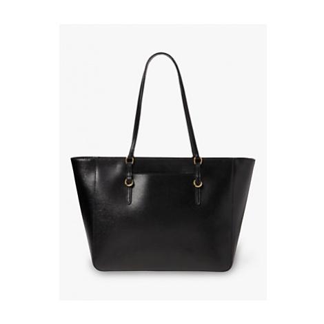Lauren Ralph Lauren Chadwick Leather Tote Bag, Black