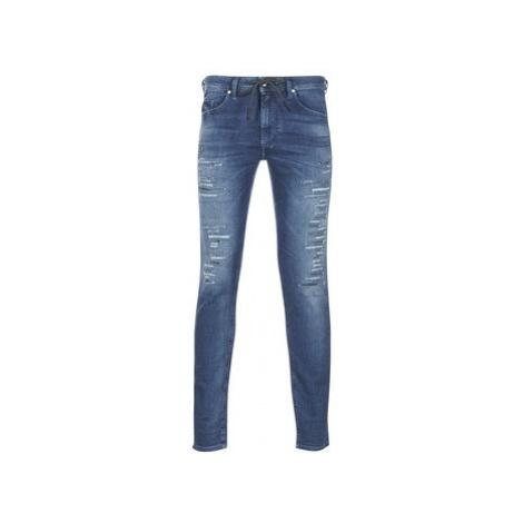 Diesel THOMMER JOGGJEANS men's Skinny Jeans in Blue