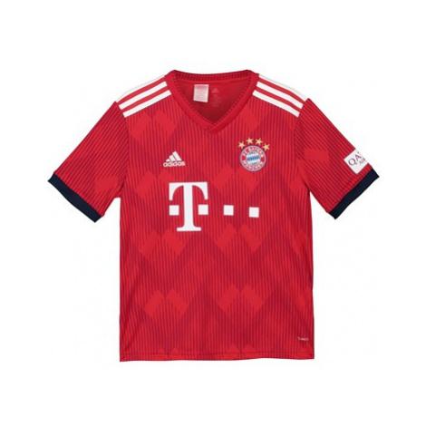 FC Bayern Home Shirt 2018-19 - Kids Adidas