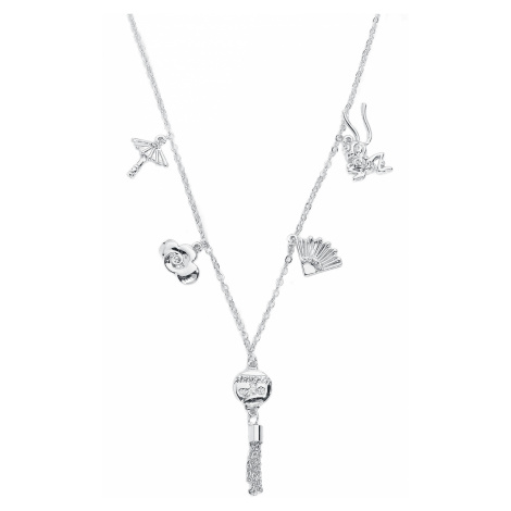 Mulan - Disney by Couture Kingdom - Symbols - Necklace - silver-coloured