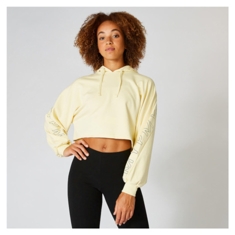 Icon Cropped Hoodie - Lemon - L Myprotein