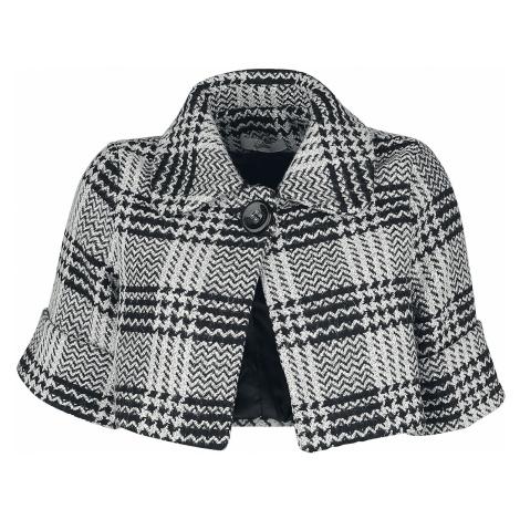 Belsira - Premium Wool Jacket - Girls jacket - black-white