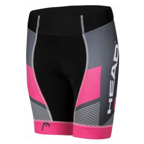 Head LADY CYCLE SHORT TEAM black - Women's cycling shorts