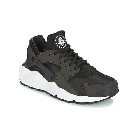 Nike AIR HUARACHE RUN W women's Shoes (Trainers) in Black