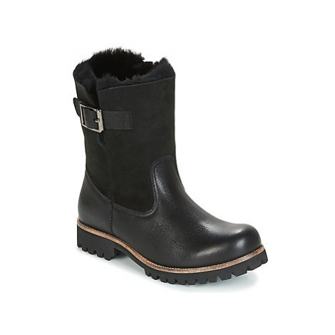 Blackstone OL05 women's Mid Boots in Black