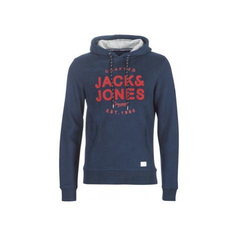Jack Jones JORUPTON men's Sweatshirt in Blue Jack & Jones