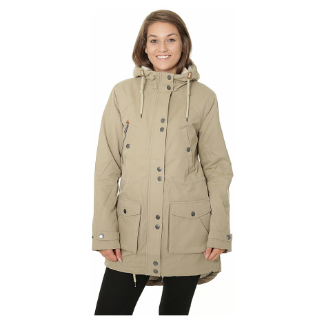 coat Volcom Walk On By - Khaki - women´s