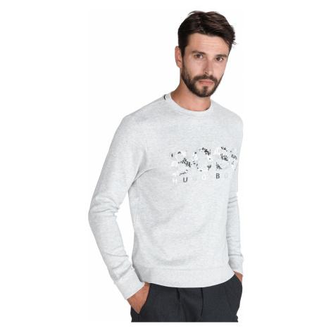 BOSS Salbo Iconic Sweatshirt Grey Hugo Boss