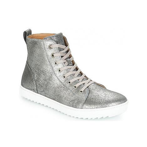 Birkenstock BARTLETT WOMEN women's Shoes (High-top Trainers) in Silver
