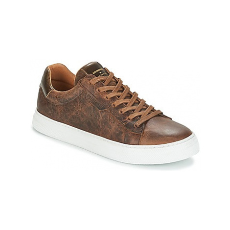 Schmoove SPARK CLAY men's Shoes (Trainers) in Brown