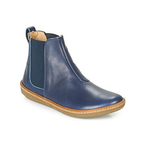 El Naturalista CORAL women's Mid Boots in Blue
