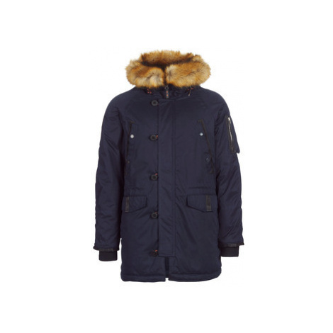Superdry SDX PARKA men's Parka in Blue
