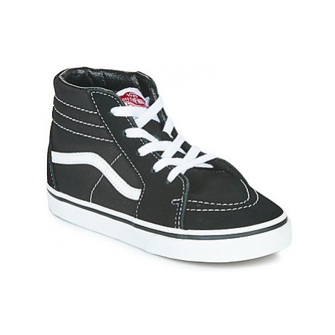 Vans TD SK8-HI girls's Children's Shoes (High-top Trainers) in Black