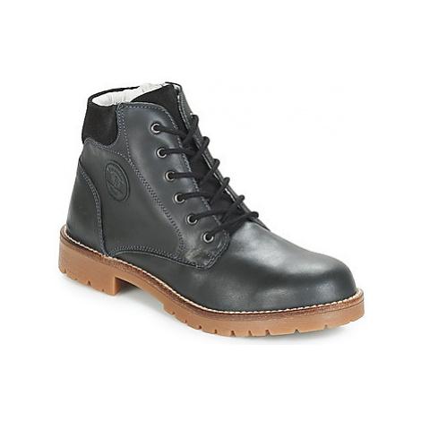 Garvalin DESERT KAISER boys's Children's Mid Boots in Black Garvalín
