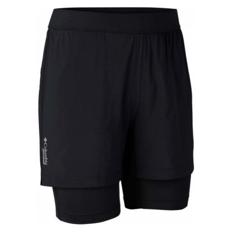 Columbia TITAN ULTRA II SHORT black - Men's outdoor 2in1 shorts