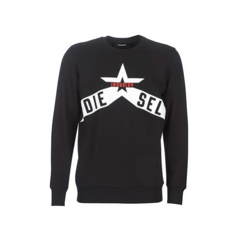 Diesel S GIR A3 men's Sweatshirt in Black