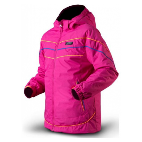 TRIMM RITA pink - Girls' ski jacket