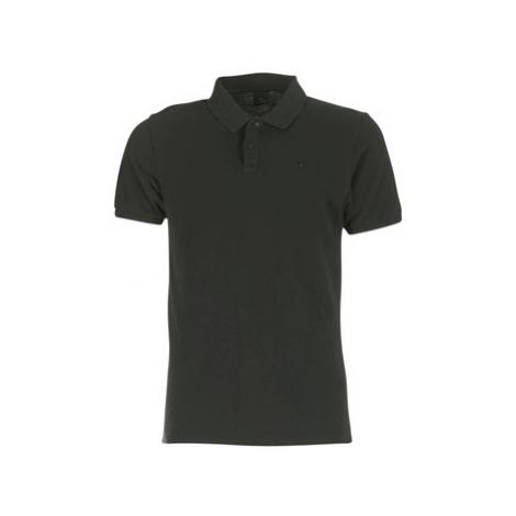 Scotch Soda DELACREM men's Polo shirt in Black Scotch & Soda