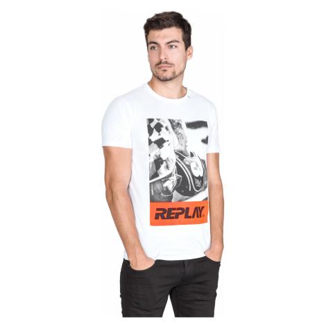 Replay T-shirt White