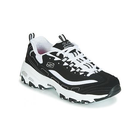 Skechers D'LITES women's Shoes (Trainers) in Black