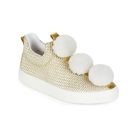 Minna Parikka POM POM women's Shoes (Trainers) in Gold