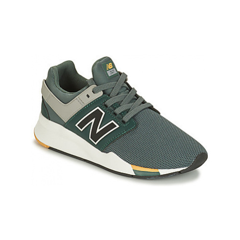 New Balance GS247 boys's Children's Shoes (Trainers) in Green