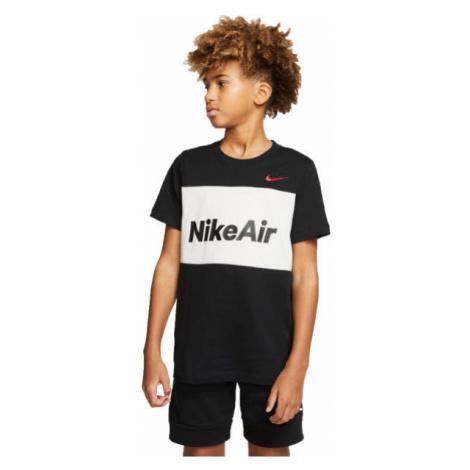 Nike NSW NIKE AIR TEE B black - Boy's T-shirt