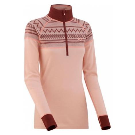 KARI TRAA LOKKE H/Z pink - Women's thermal T-shirt