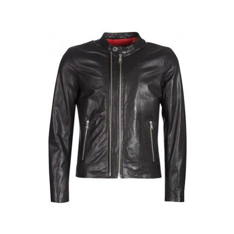 Redskins KASE men's Leather jacket in Black