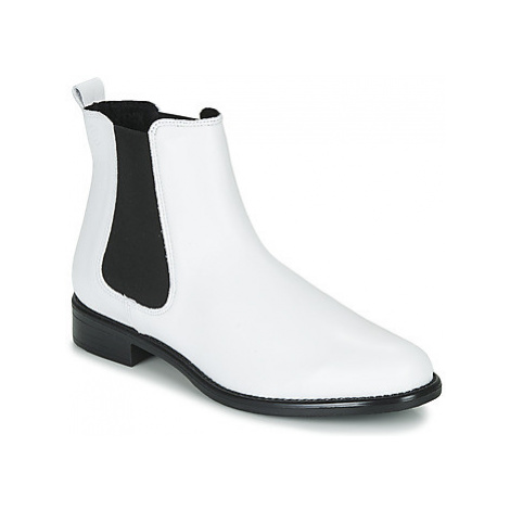 Betty London NORA women's Mid Boots in White