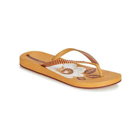 Ipanema ANAT NATURE III women's Flip flops / Sandals (Shoes) in Yellow