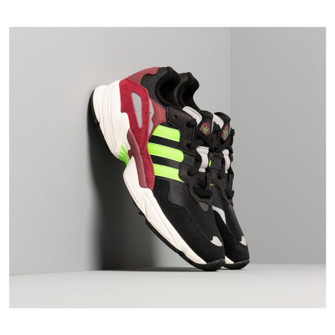 adidas Yung-96 Core Black/ Semi Green/ Core Burgundy